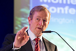 24/05/2013 An Taoiseach, Enda Kenny, T.D. is pictured at the Bank of Ireland conference 'Building Business Momentum'. Attended by approximately 800 SMEs from the Dublin region, it looked at future growth across key sectors in the Irish economy and marked the conclusion of a series of business events nationwide as part of Bank of Ireland's 8th National Enterprise Week..Other speakers at the event included Pat McCann, Chief Executive, Dalata Hotel Group, Eleanor Nash, Group Head of Human Resources, Eason and Son Ltd., Oliver Tattan, CEO, Insurance Regulatory Capital, Professor Peter Cooke, Professor of Automotive Management, The University of Buckingham,  Mark FitzGerald, Chief Executive,  Sherry FitzGerald Group and Kingsley Aikins, Principal, Diaspora Matters. Picture Andres Poveda