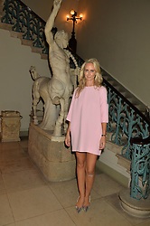 LADY VICTORIA HERVEY at an evenig of Jewellery & Photography to launch the Buccellati 'Opera Collection' held at Spencer House, London on 21st October 2015.