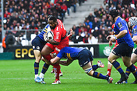Mathieu Bastareaud  - 19.04.2015 - Toulon / Leinster - 1/2Finale European Champions Cup -Marseille<br />