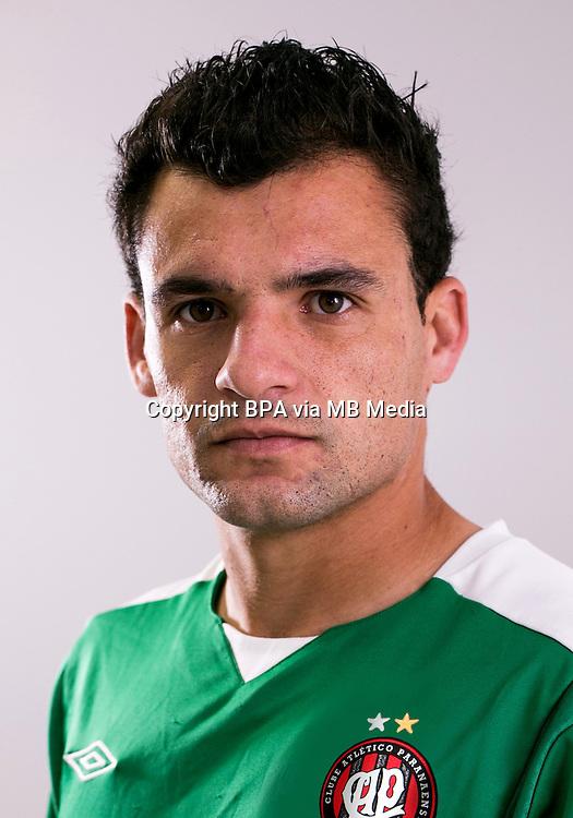 """Brazilian Football League Serie A /<br /> ( Clube Atletico Paranaense ) -<br /> Paulo Henrique Dias da Cruz """" Paulinho Dias """""""