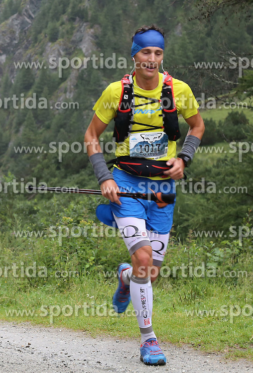 25.07.2015, Dorfertal, Kals, AUT, Grossglockner Ultra Trail, 50 km Berglauf, im Bild Matus Vnencak (SVK) // Matus Vnencak of Slovakia during the Grossglockner Ultra Trail 50 km Trail Run from Kals arround the Grossglockner to Kaprun. Kals, Austria on 2015/07/25. EXPA Pictures © 2015, PhotoCredit: EXPA/ Stringer
