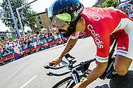 04-07-2015: Wielrennen: Grande Depart: Tour de France: Utrecht<br /> <br /> Geoffrey SOUPE<br /> <br /> De 1e etappe van de Tour de France van 2015 was een individuele tijdrit van 13,8 kilometer. De start en finish zijn bij de Jaarbeurs in Utrecht