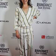 London, England, UK. 25th September 2017. Director Laura Plancarte of Siblings attend Raindance Film Festival Screening at Vue Leicester Square, London, UK