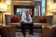 Randy Meyers poses for a portrait at The Fairmont in Dallas, Texas on May 17, 2017. (Cooper Neill for The New York Times)