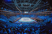 Inside the O2 Arena during first day of the Barclays ATP World Tour Finals at the O2 Arena, London, United Kingdom on 9 November 2014. © Phil Duncan | Pro Sports Images