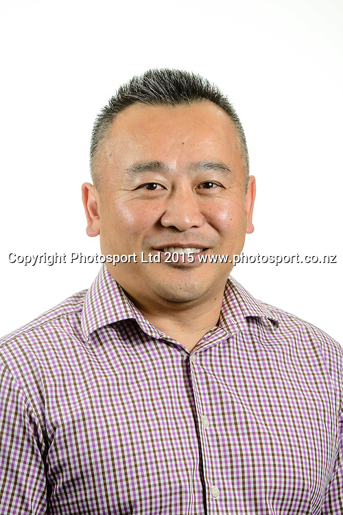 Brian Yee, Basketball New Zealand Board Portraits, Wellington, New Zealand. Thursday 12 February 2015. Copyright Photo: Mark Tantrum/www.Photosport.co.nz