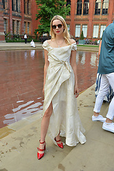 Greta Bellamacina at the V&A Summer Party 2017 held at the Victoria & Albert Museum, London England. 21 June 2017.<br /> Photo by Dominic O'Neill/SilverHub 0203 174 1069 sales@silverhubmedia.com