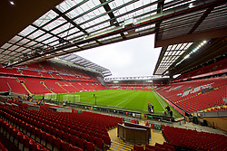 LIVERPOOL, ENGLAND - Saturday, March 9, 2019: A general view of Anfield from the Spion Kop before the FA Premier League match between Liverpool FC and Burnley FC. (Pic by David Rawcliffe/Propaganda)