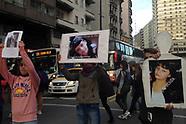 Movilización por gente desaparecida