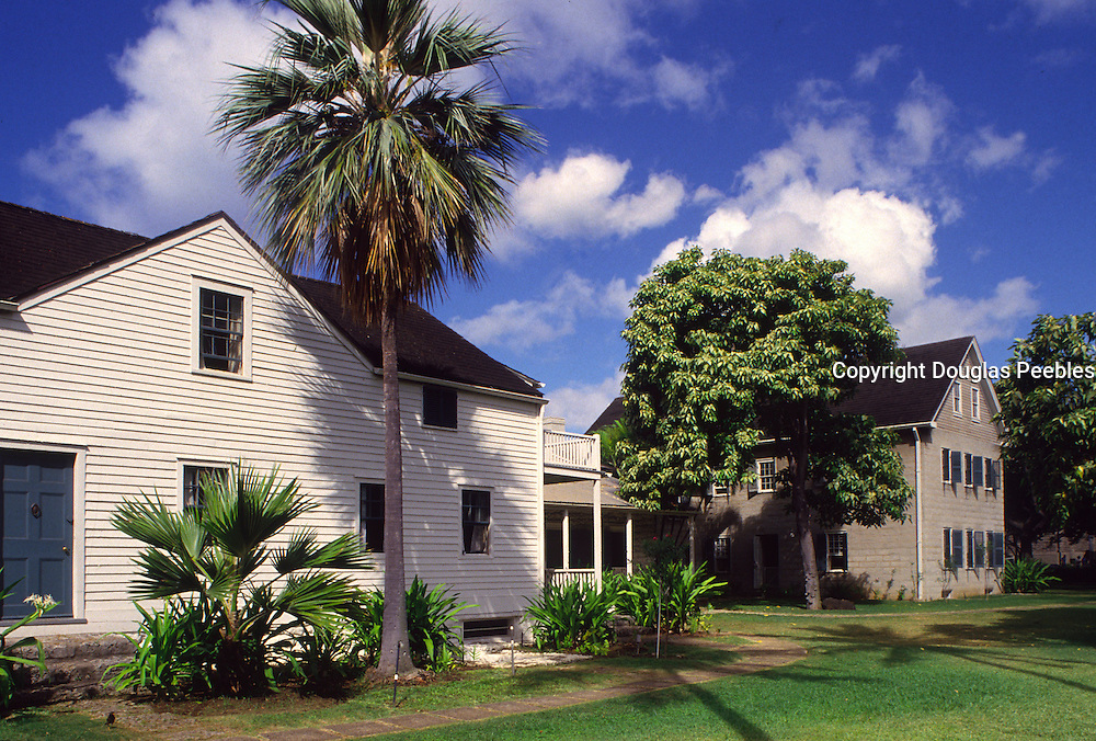 Mission Houses, Honolulu, Oahu, Hawaii<br />