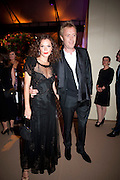 ANNA FRIEL; RHYS IFANS, Evgeny Lebedev and Graydon Carter hosted the Raisa Gorbachev charity Foundation Gala, Stud House, Hampton Court, London. 22 September 2011. <br /> <br />  , -DO NOT ARCHIVE-© Copyright Photograph by Dafydd Jones. 248 Clapham Rd. London SW9 0PZ. Tel 0207 820 0771. www.dafjones.com.