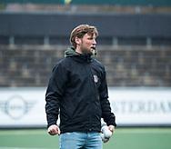 AMSTELVEEN - Hockey - Hoofdklasse competitie dames. AMSTERDAM-LAREN (2-0)  . assistent-coach Robert Tigges (A'dam)   COPYRIGHT KOEN SUYK