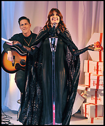 Florence Welch of Florence and the Machine performs live to open the Harrods Christmas Sale begins today, Tuesday December 27, 2011. Photo By Andrew Parsons/ i-Images