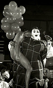 Leigh Bowery gives birth on stage at Flesh, Manchester, 1990s