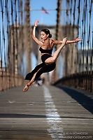 Dance As Art The New York City Photography Project Brooklyn Bridge Series with Gabriela Vasquez