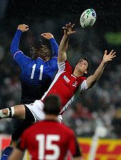 Napier-Rugby, RWC, France v Canada