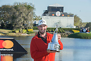 Arnold Palmer Invitational Champion 2017 Marc Leishman after the Final Round of the The Arnold Palmer Invitational Championship 2017, Bay Hill, Orlando,  Florida, USA. 19/03/2017.<br /> Picture: PLPA/ Mark Davison<br /> <br /> <br /> All photo usage must carry mandatory copyright credit (&copy; PLPA   Mark Davison)