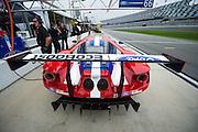 January 7-10, 2016: IMSA WeatherTech Series ROAR: Ford GT detail