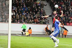23.11.2011, BayArena, Leverkusen, Germany, UEFA CL, Gruppe E, Bayer 04 Leverkusen (GER) vs Chelsea FC (ENG), im Bild Eren Derdiyok (Leverkusen #19) köpft ein zum 1:1 Ausgleich // during the football match of UEFA Champions league, group E, between Bayer Leverkusen (GER) and FC Chelsea (ENG) at BayArena, Leverkusen, Germany on 2011/11/23.EXPA Pictures © 2011, PhotoCredit: EXPA/ nph/ Mueller..***** ATTENTION - OUT OF GER, CRO *****