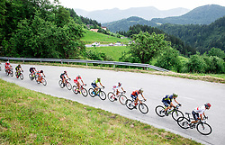 Rafal Majka (POL) of Bora - Hansgrohe (R) during Stage 3 of 24th Tour of Slovenia 2017 / Tour de Slovenie from Celje to Rogla (167,7 km) cycling race on June 16, 2017 in Slovenia. Photo by Vid Ponikvar / Sportida