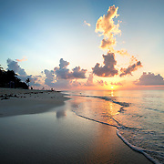 Sunrise over Tulum, Mexico