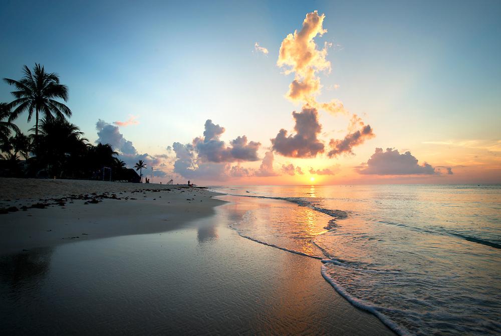 Sunrise over Tulum, Mexico