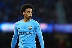 Leroy Sane of Manchester City - Mandatory by-line: Matt McNulty/JMP - 06/01/2018 - FOOTBALL - Etihad Stadium - Manchester, England - Manchester City v Burnley - Emirates FA Cup Third Round