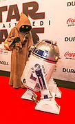 2017-12-11. Cinemec Utrecht. Nederlandse premiere van Star Wars - the Last Jedi. Op de foto: