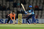 Jemimah Rodrigues of Yorkshire Diamonds batting during the Women's Cricket Super League match between Southern Vipers and Yorkshire Diamonds at the Ageas Bowl, Southampton, United Kingdom on 21 August 2019.