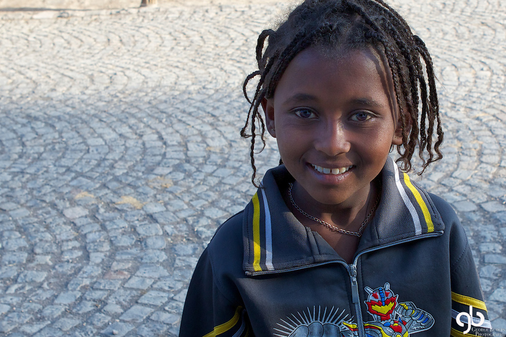 The cobble stone streets of Addis Ababa are an interesting addition to the dirt arterials that riddle the city.