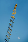 Single Construction Crane