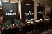 Tag Heuer and Hublot event at Daniel Restaurant