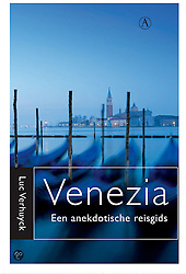 Tearsheet from book cover of Venice