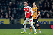 Olivier Giroud (Arsenal) during the The FA Cup fifth round match between Hull City and Arsenal at the KC Stadium, Kingston upon Hull, England on 8 March 2016. Photo by Mark P Doherty.