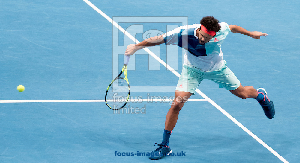 Jo-Wilfred Tsonga during the final of the Erste Bank Open at Wiener Stadthalle, Vienna, Austria.<br /> Picture by EXPA Pictures/Focus Images Ltd 07814482222<br /> 30/10/2016<br /> *** UK &amp; IRELAND ONLY ***<br /> EXPA-PUC-161030-0316.jpg