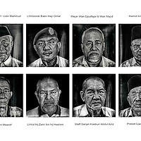 Ahmad Yusni captured a series of stoic black and white portraits of members of the Association of Malaysia Army Veterans, also known as Persatuan Veteran Angkatan Tentera Malaysia (PVATM) of Negeri Sembilan, some of whom had fought in various battles during World War II, the First Malayan Emergency (1948-1960), Second Malayan Emergency (1968-1989) and Konfrontasi (1962-1966).<br />