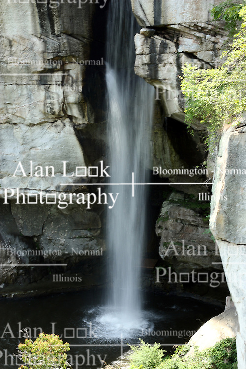 July 2007: Water Falls.  Attractions near Chattanooga Tennessee.  Rock City - Lookout Mountain, Ga.