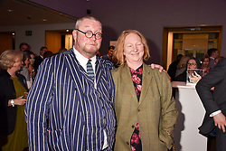 Fergus & Margot Henderson at CURE³ - private view in aid of The Cure Parkinsons Trust held at Bonhams, 101 New Bond Street, London England. 13 March 2017.