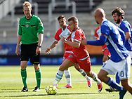 FODBOLD: Anders Holst (FC Helsingør) under kampen i ALKA Superligaen mellem Lyngby Boldklub og FC Helsingør den 10. september 2017 på Lyngby Stadion. Foto: Claus Birch