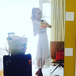 """Jenny Elvers releases a photo on Instagram with the following caption: """"#munich #m\u00fcnchen #filmfestm\u00fcnchen2017 #schonwiederunterwegs #workingmom #eucheinentollentag @majeofficiel @manouc_germany @_celebritynetwork_ @mgm.models"""". Photo Credit: Instagram *** No USA Distribution *** For Editorial Use Only *** Not to be Published in Books or Photo Books ***  Please note: Fees charged by the agency are for the agency's services only, and do not, nor are they intended to, convey to the user any ownership of Copyright or License in the material. The agency does not claim any ownership including but not limited to Copyright or License in the attached material. By publishing this material you expressly agree to indemnify and to hold the agency and its directors, shareholders and employees harmless from any loss, claims, damages, demands, expenses (including legal fees), or any causes of action or allegation against the agency arising out of or connected in any way with publication of the material."""