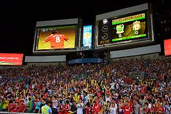 Hong Kong, China - Friday, July 27, 2007: Liverpool supporters during the final of the Barclays Asia Trophy at the Hong Kong Stadium. (Photo by David Rawcliffe/Propaganda)
