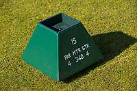 WASSENAAR / Den Haag - teebox hole 15.  Koninklijke Haagsche Golf Club    COPYRIGHT KOEN SUYK