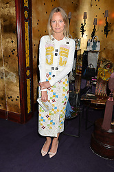 MARTHA WARD at a party to celebrate the launch of the Dee Ocleppo 2015 Pre Fall Collection benefiting the Walkabout Foundation held at Loulou's, 5 Hertford Street, London on 16th June 2015.