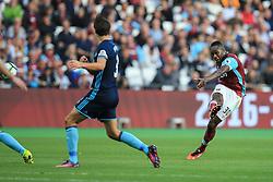 Michail Antonio of West Ham United shot on goal goes wide - Mandatory by-line: Jason Brown/JMP - 01/10/2016 - FOOTBALL - London Stadium - London, England - West Ham United v Middlesbrough - Premier League