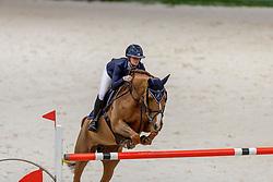 LOSER Aurelia (SUI), Julia's Diamond Princess<br /> Genf - CHI Geneve Rolex Grand Slam 2019<br /> Prix des Communes Genevoises<br /> 2-Phasen-Springen<br /> International Jumping Competition 1m50<br /> Two Phases: A + A, Both Phases Against the Clock<br /> 13. Dezember 2019<br /> © www.sportfotos-lafrentz.de/Stefan Lafrentz