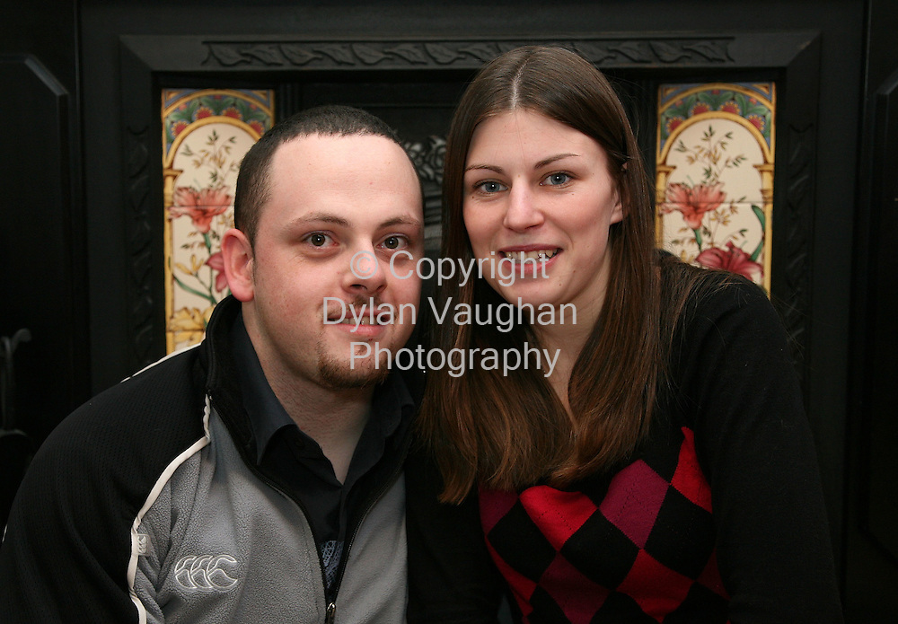 6/12/2006.Budget Feature.Dave Stevens and Sarah Reid pictured at their home in Carlow..Picture Dylan Vaughan.