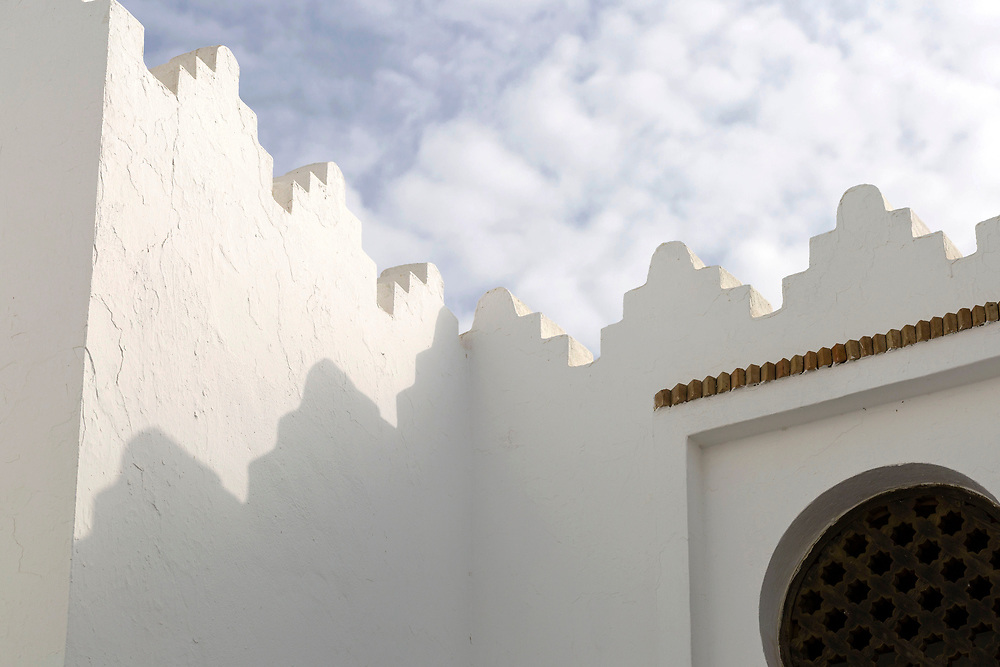 Portuguese Rampart Architecture, Asilah, Northern Morocco, 2015-08-10. <br />