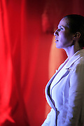Andromaque de jean racine.Mise en scene : Thomas le douarec.avec : Natacha Amal, Marie Parouty, Gregoire Bonnet , Jean-charles Chagachbanian , Florent Guyot.festival off 2006.photos : Arnold Jerocki