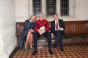 ANNABEL ELLIOT; HENRY WYNDHAM; SIMON ELLIOT,  THE FABERGÉ BIG EGG HUNT AUCTION in aid of Action for Children. Royal Courts of Justice. London. 20 March 2012.