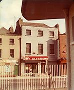 Old Dublin Amature Photos August 1983 WITH, Regans Pub, Behind Guinnesses, Canal, Four Seasons Pub, Bolton St, Henrietta Place, Dominic St, Tobacco Distributors Pearse St, James St, Grand Canal, Harolds St, Kevin St, The Orchard Kilmainham Irishtown, H.C. Capitol Dry Cleaners,